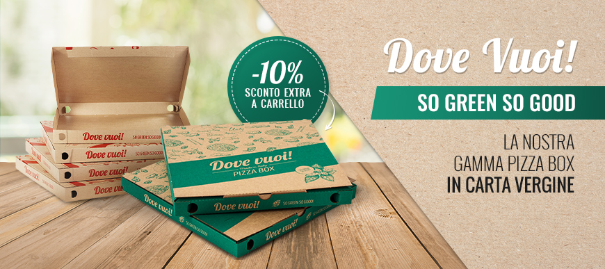 Dove vuoi! Standard Pizza Box