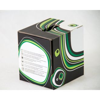 SEIL box® 5 litri grafica verde 195x166x200 mm