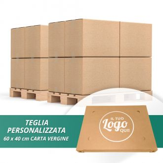 Dove vuoi! So green so good TEGLIA 60X40 Stampa Logo un Colore min. 2 Bancali
