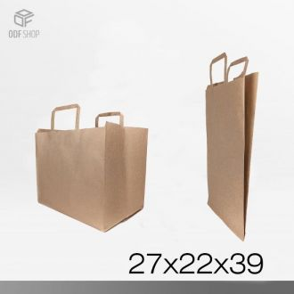 SHOPPER IN CARTA AVANA 27x22x39
